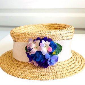 GAP Made In Italy Straw Girls Hat Sz S/M